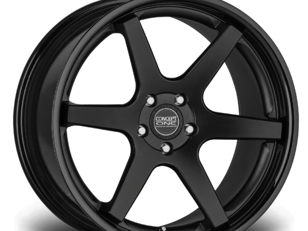 "20"" CONCEPT ONE CS6.0 Wheels - Matt Black - VW / Audi / Mercedes - 5x112"