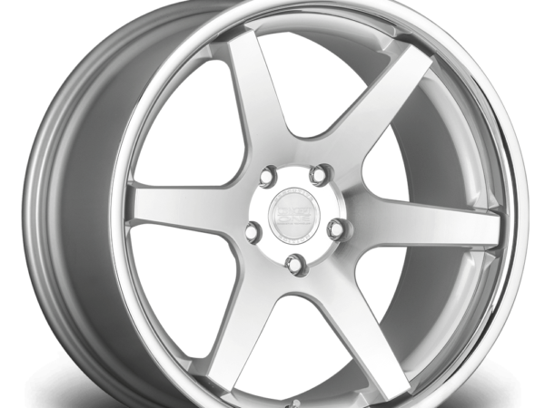 "20"" CONCEPT ONE CS6.0 Wheels - Silver Polished Lip - VW / Audi / Mercedes - 5x112"