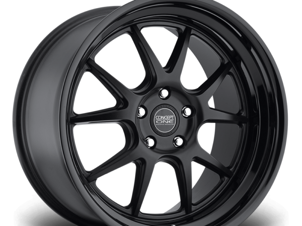 "19"" CONCEPT ONE CSL5.5 Wheels - Matt Black - E90 / E91 / E92 / E93 / F10 / F11"