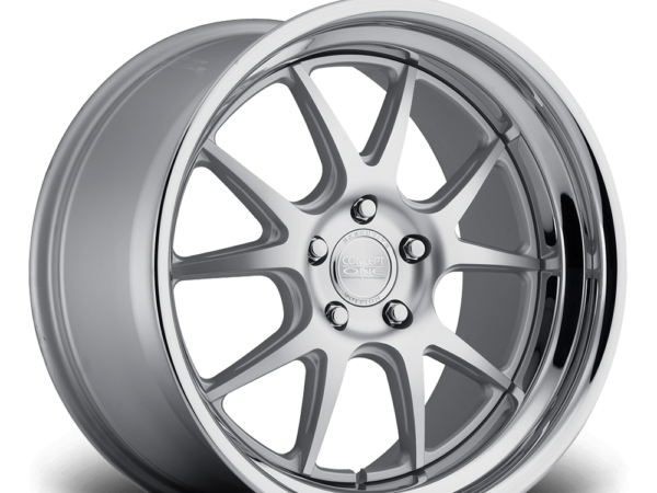 "19"" CONCEPT ONE CSL5.5 Wheels - Silver Polished Lip - VW / Audi / Mercedes - 5x112"
