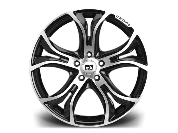 "20"" RIVIERA DIZZARD Wheels - Black Polished - F30 / F31 / F32 / F33"