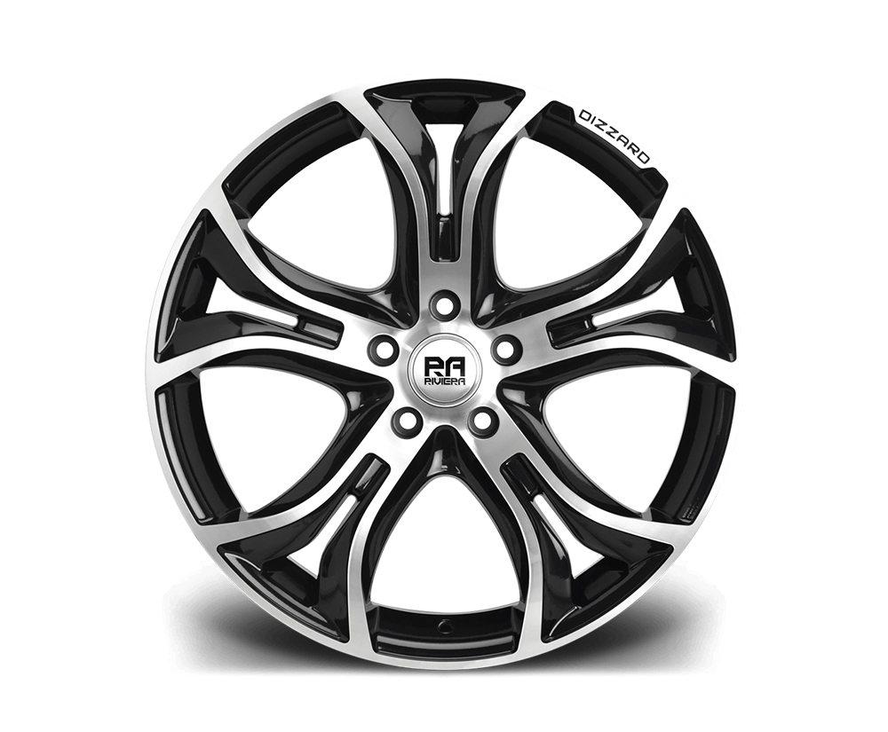 """20"""" RIVIERA DIZZARD Wheels - Black Polished - F30 / F31 / F32 / F33"""