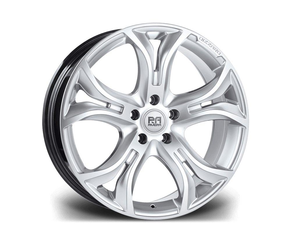 """20"""" RIVIERA DIZZARD Wheels - Hyper Silver - F30 / F31 / F32 / F33"""