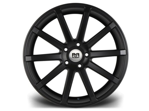 "20"" RIVIERA ENIGMA Wheels - Matt Black - F30 / F31 / F32 / F33"