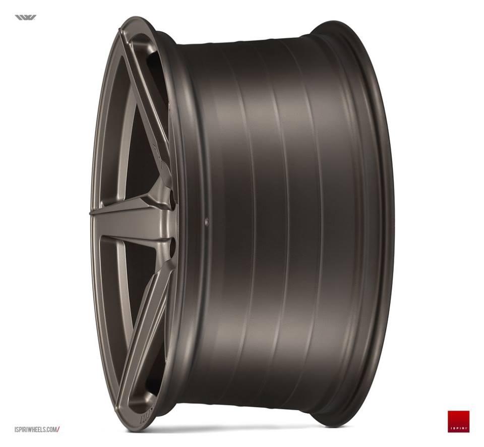 """20"""" ISPIRI FFR5 Wheels - Matt Carbon Bronze - VW / Audi / Mercedes - 5x112"""