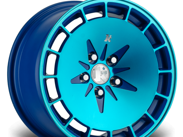 "16"" KLUTCH KM16 Wheels - Blue - VW / Audi - 4x100"