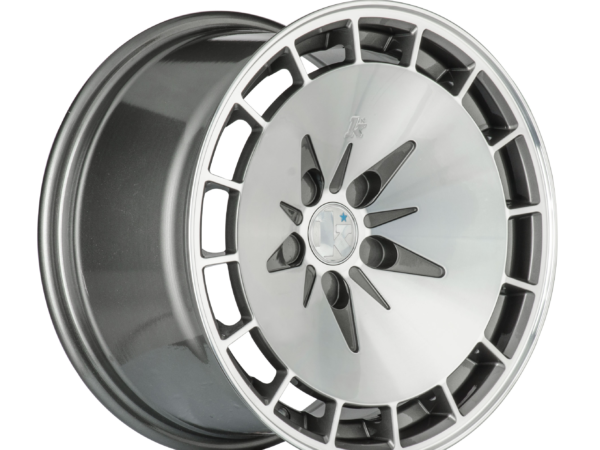 "15"" KLUTCH KM16 Wheels - Gunmetal Polished - VW / Audi - 4x100"