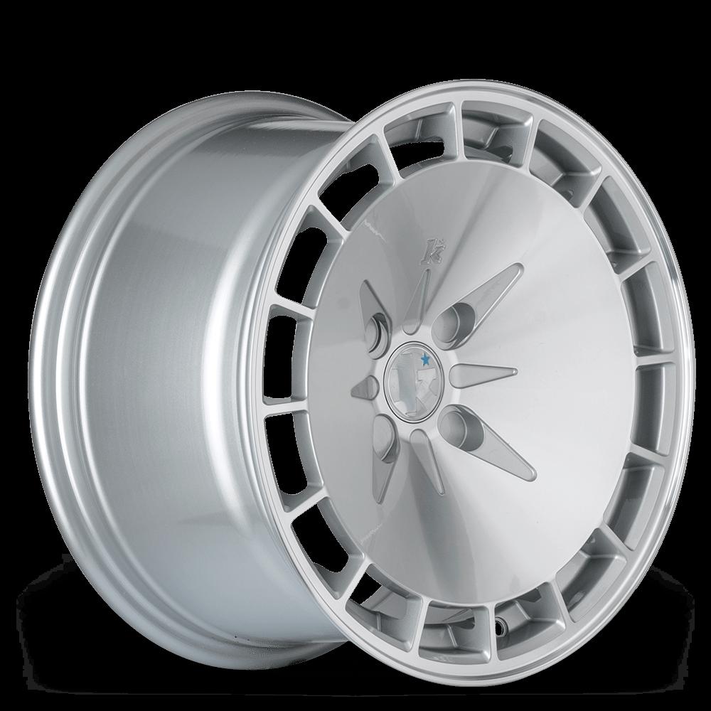 """15"""" KLUTCH KM16 Wheels - Silver - VW / Audi - 4x100"""