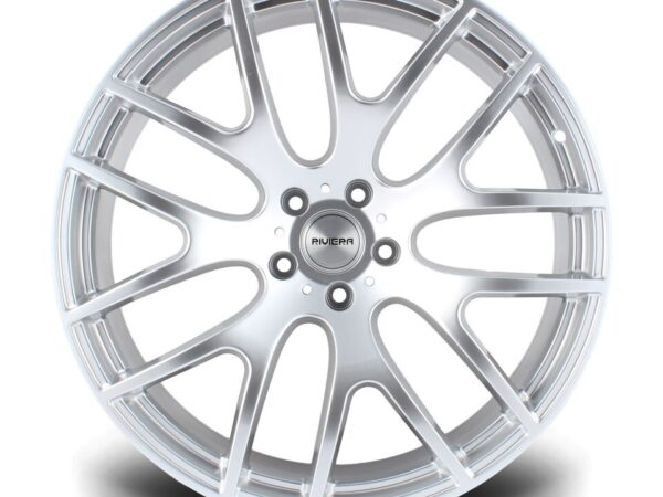 "22"" RIVIERA RV117 Wheels - Hyper Silver - 5x120"