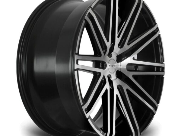 "22"" RIVIERA RV120 Wheels - Black Polished - 5x112"