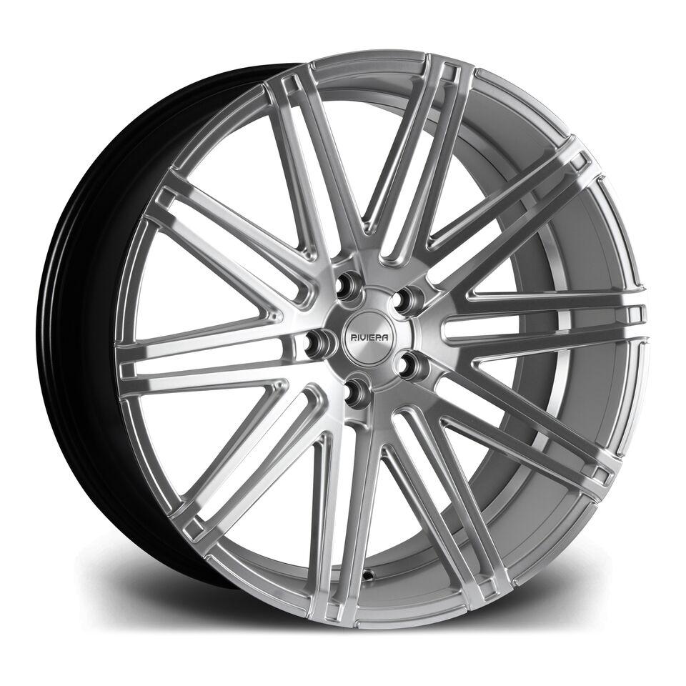 "22"" RIVIERA RV120 Wheels - Hyper Silver - 5x112"