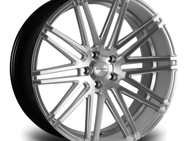 "22"" RIVIERA RV126 Wheels - Hyper Silver - 5x120"