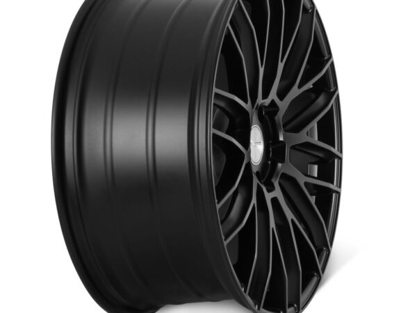 "22"" RIVIERA RV126 Wheels - Matt Black - 5x120"