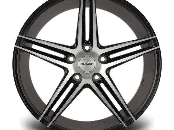 "18"" RIVIERA RV132 Wheels - Black Polished - E9x / F10 / F11 / F30 / F32 / E46 - 5x120"
