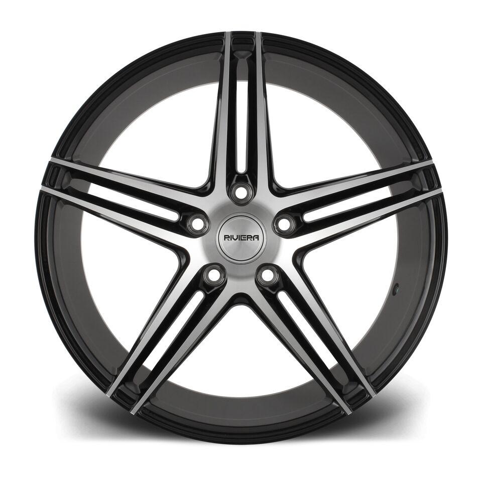 """19"""" RIVIERA RV132 Wheels - Black Polished - E90 / E91 / E92 / E93 / F10 / F11"""
