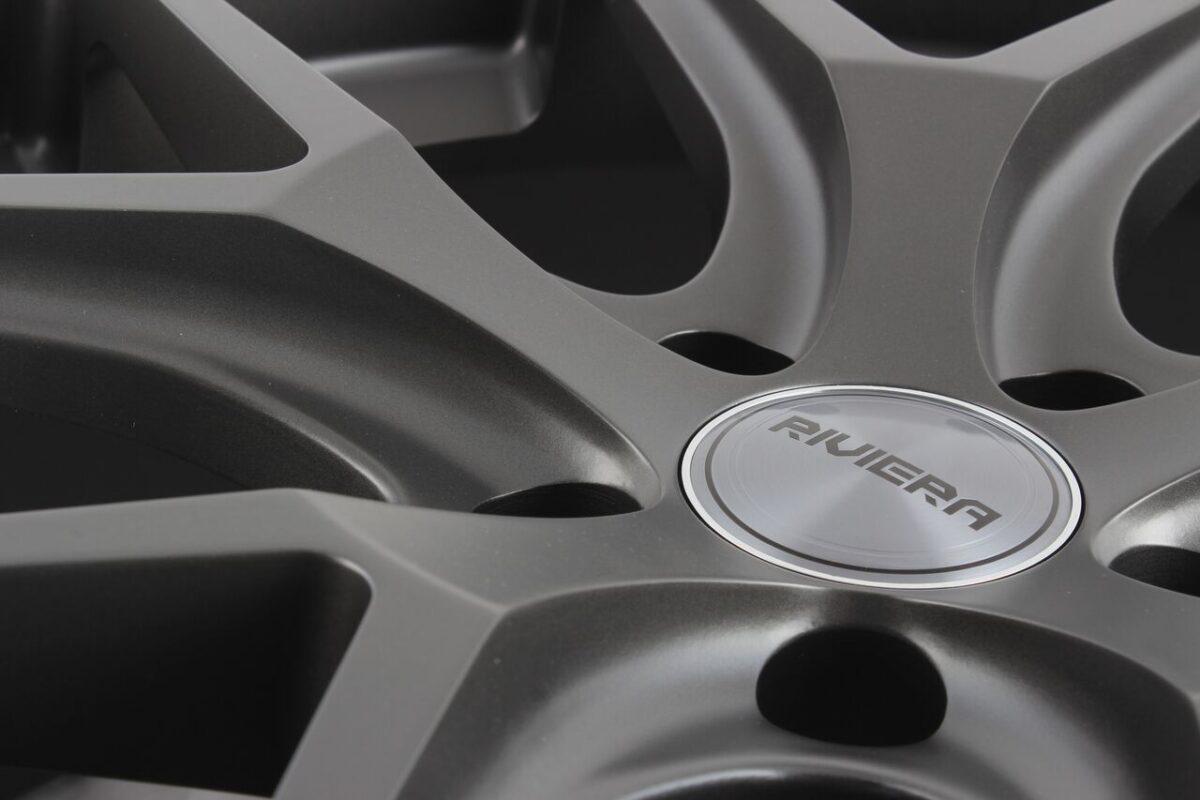 """20"""" RIVIERA RV136 Wheels - Matt Gunmetal - VW / Audi / Mercedes - 5x112"""