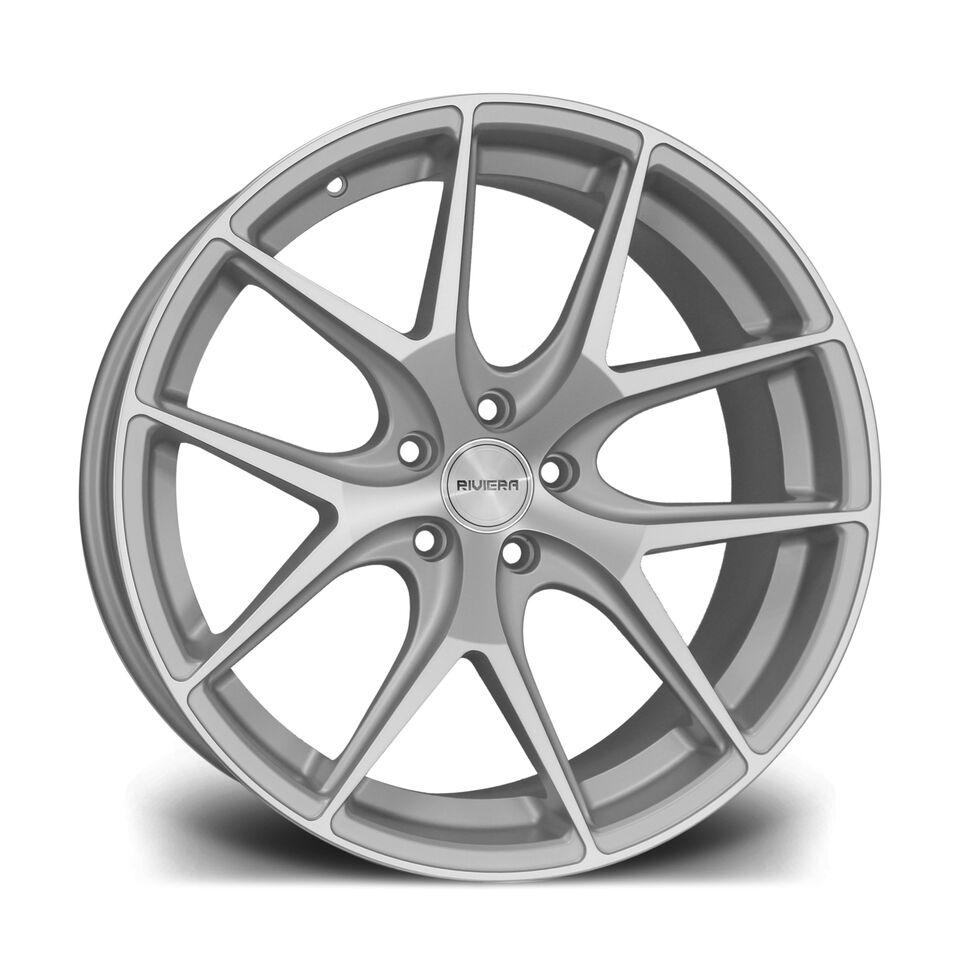 """20"""" RIVIERA RV136 Wheels - Silver Polished - E90 / E91 / E92 / E93 / F10 / F11"""