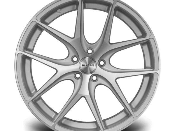 "20"" RIVIERA RV136 Wheels - Silver Polished - VW / Audi / Mercedes - 5x112"