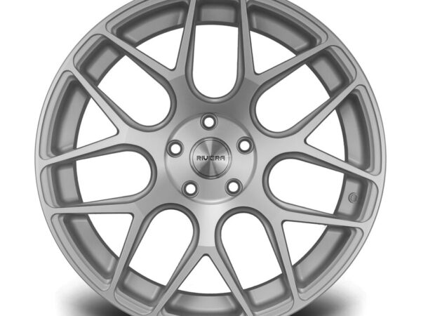 "19"" RIVIERA RV160 Wheels - Silver Polished - E9x / F10 / F11 / F30 / F32 / E46"