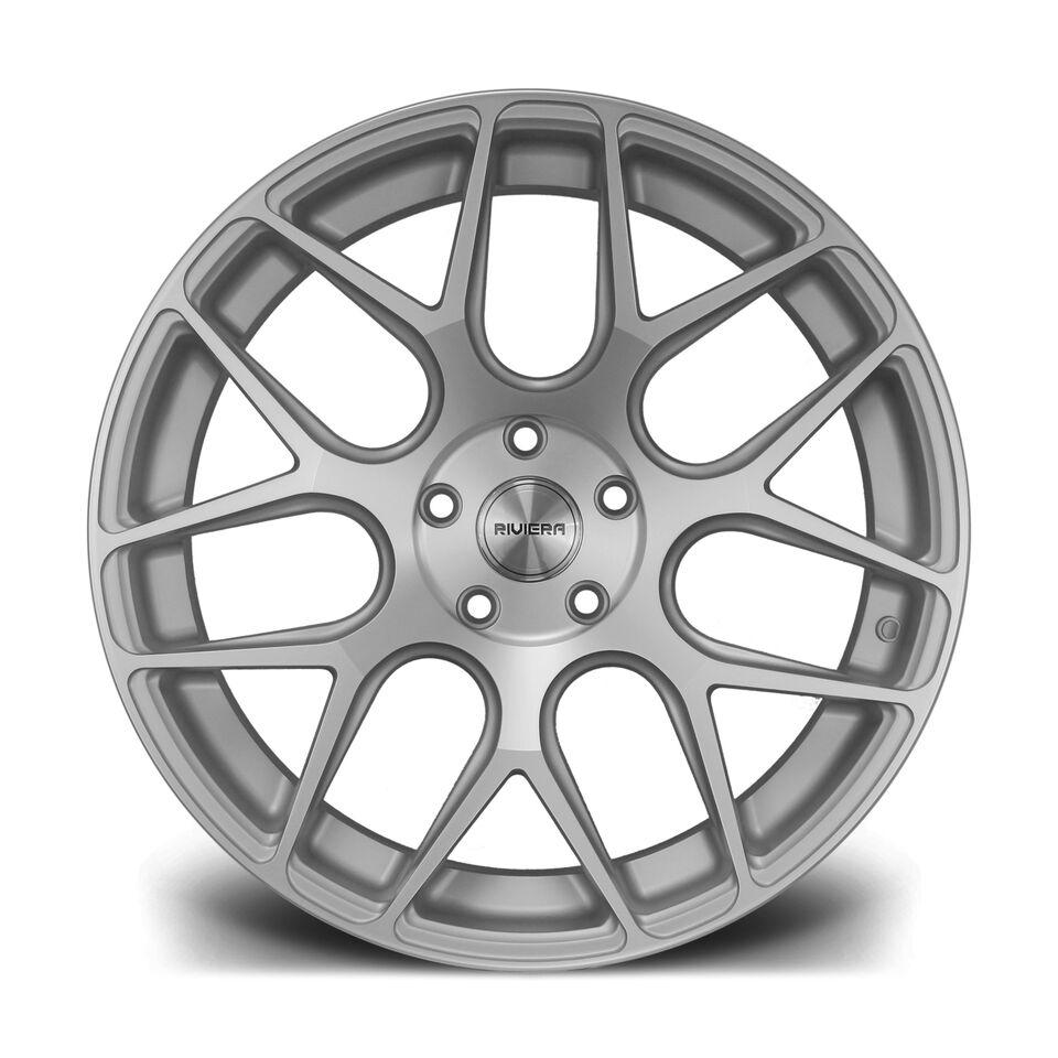 """19"""" RIVIERA RV160 Wheels - Silver Polished - E9x / F10 / F11 / F30 / F32 / E46"""