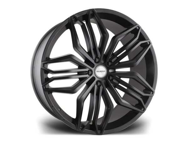 "22"" RIVIERA RV180 Wheels - Matt Black - 5x120"
