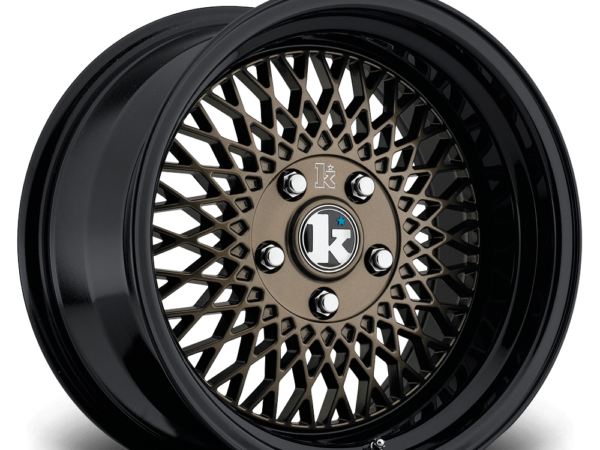 "16"" KLUTCH SL1 Wheels - Bronze Black - VW / Audi - 4x100"