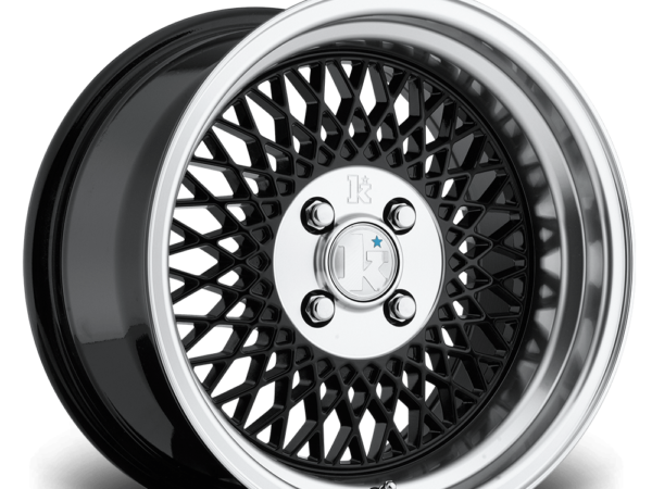 "15"" KLUTCH SL1 Wheels - Black - VW / Audi - 4x100"