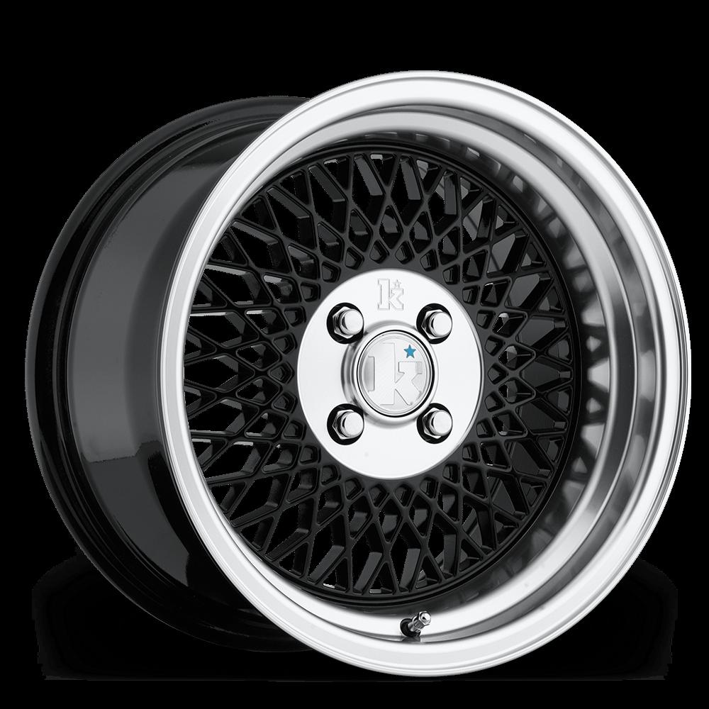 "16"" KLUTCH SL1 Wheels - Black - VW / Audi - 4x100"