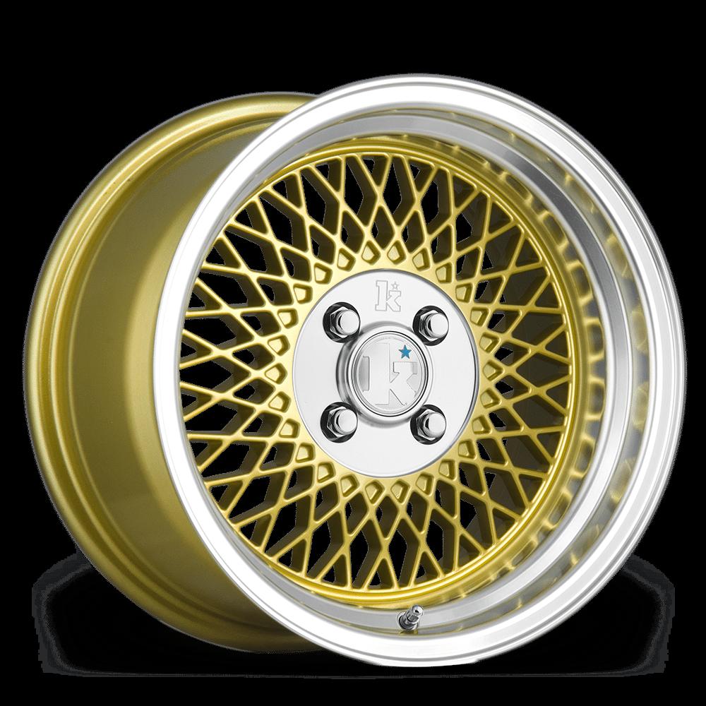 "15"" KLUTCH SL1 Wheels - Gold - VW / Audi - 4x108"