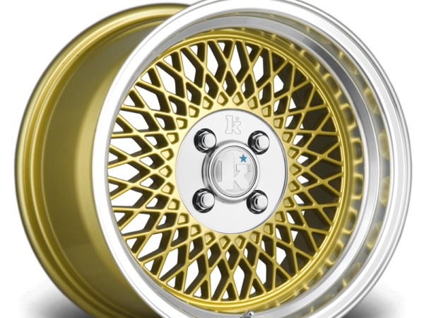 "16"" KLUTCH SL1 Wheels - Gold - VW / Audi - 4x100"
