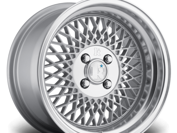 "15"" KLUTCH SL1 Wheels - Silver - VW / Audi - 4x108"