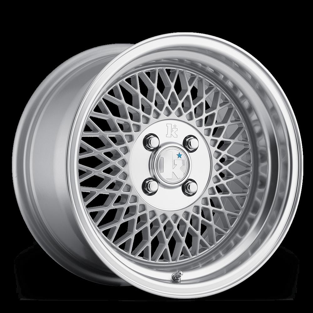 "15"" KLUTCH SL1 Wheels - Silver - VW / Audi - 4x108"