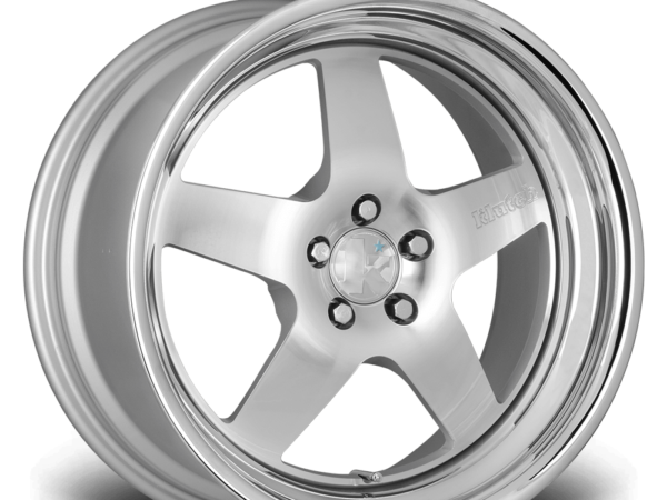 "18"" KLUTCH SL5 Wheels - Silver Polished - VW / Audi - 5x100"
