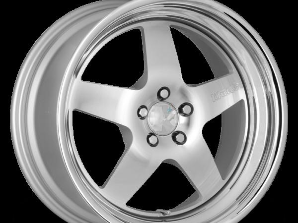 """18"""" KLUTCH SL5 Wheels - Silver Polished - VW / Audi - 5x100"""