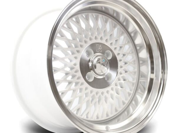"16"" KLUTCH SL1 Wheels - White - VW / Audi - 4x100"