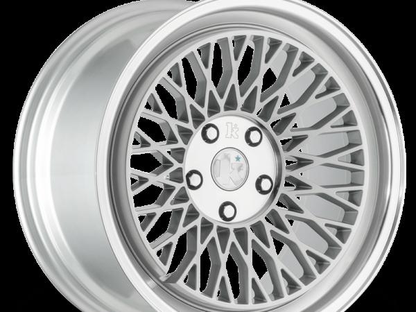 "18"" KLUTCH SLC1 Wheels - Silver Polished - VW / Audi - 5x100"