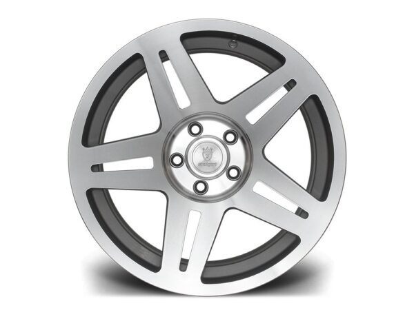 "17"" STUTTGART ST11 Wheels - Silver Polished - VW / Audi - 5x100"