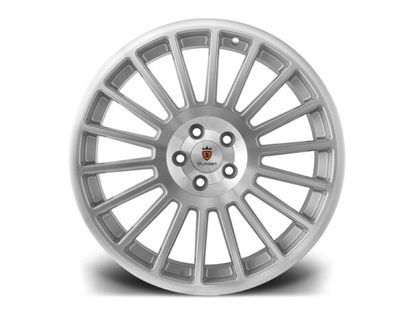 "18"" STUTTGART ST2 Wheels - Silver Polished - VW / Audi / Mercedes - 5x112"