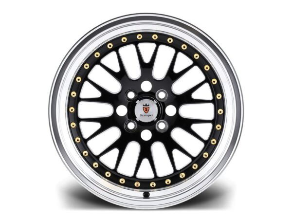 "18"" STUTTGART ST5 Wheels - Black Polished - VW / Audi / Mercedes - 5x112"
