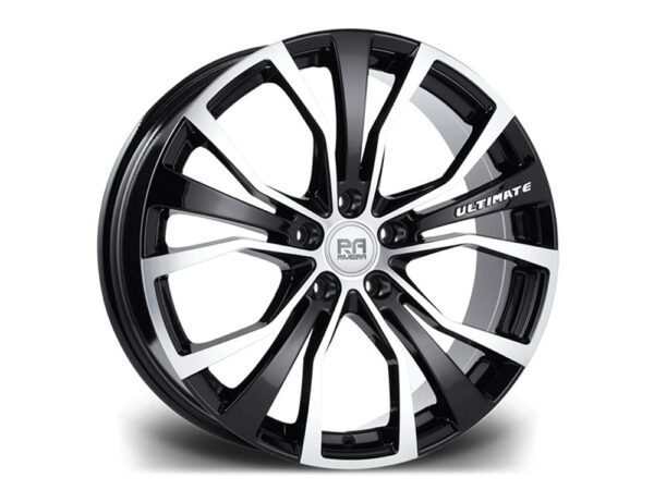 "20"" RIVIERA ULTIMATE Wheels - Black Machined - F30 / F31 / F32 / F33"