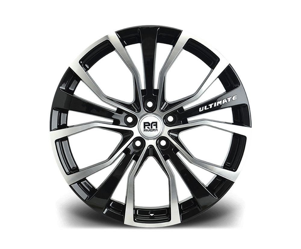 """20"""" RIVIERA ULTIMATE Wheels - Black Machined - F30 / F31 / F32 / F33"""
