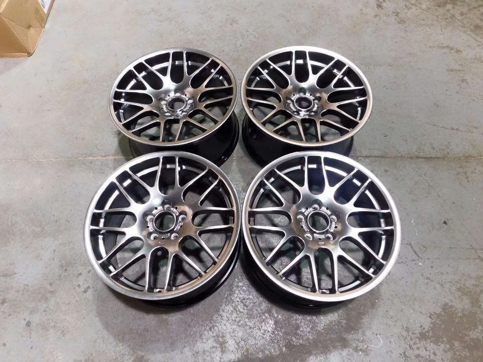 19″ Staggered CSL Style Wheels - Hyper Black - E90 / E91 ...