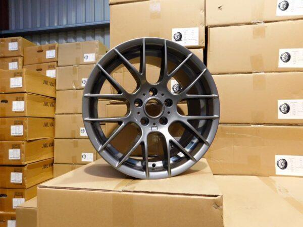 """18"""" Staggered M359 (1M) Style Wheels - Gloss Gun Metal - E90 / E91 / E92 / E93 / F30 / F10 / F20 / E46"""