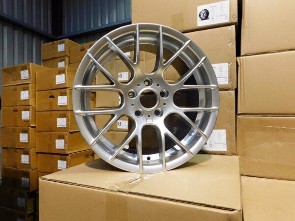 """18"""" Staggered M359 (1M) Style Wheels - Hyper Silver - E90 / E91 / E92 / E93 / E46 / F10 / F30 / F20"""