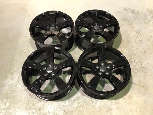 "20"" VW Transporter T5 T6 Sportline Style Alloy Wheels - Gloss Black - 950kg Load Rated"