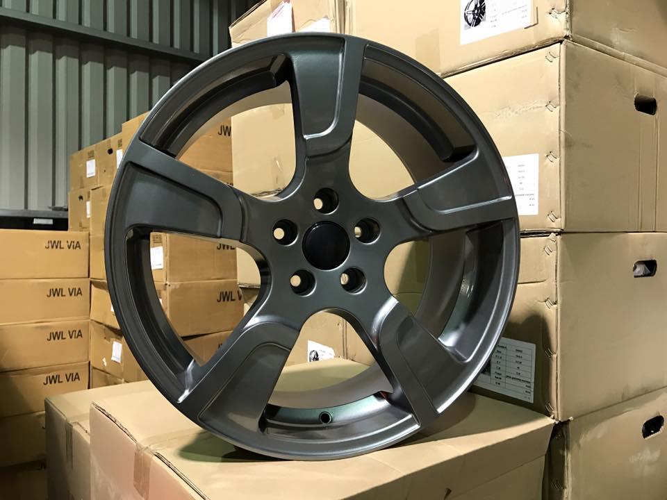 """20"""" VW Transporter T5 T6 Sportline Style Alloy Wheels - Gun Metal - 950kg Load Rated"""