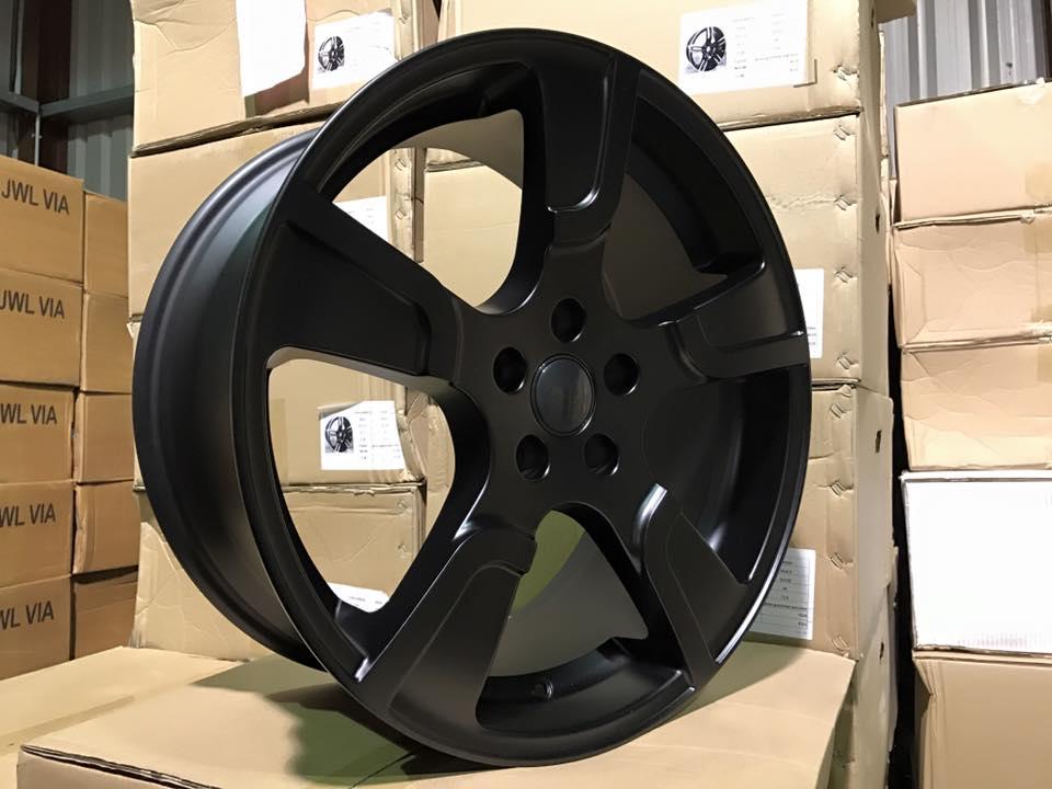 "20"" VW Transporter T5 T6 Sportline Style Alloy Wheels - Satin Black - 950kg Load Rated"