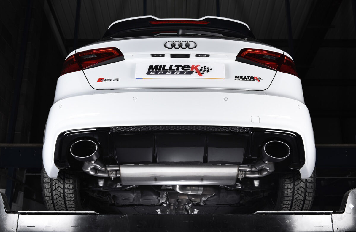 MILLTEK Cat Back Exhaust System SSXAU590 Audi RS3 Sportback (8V MQB)