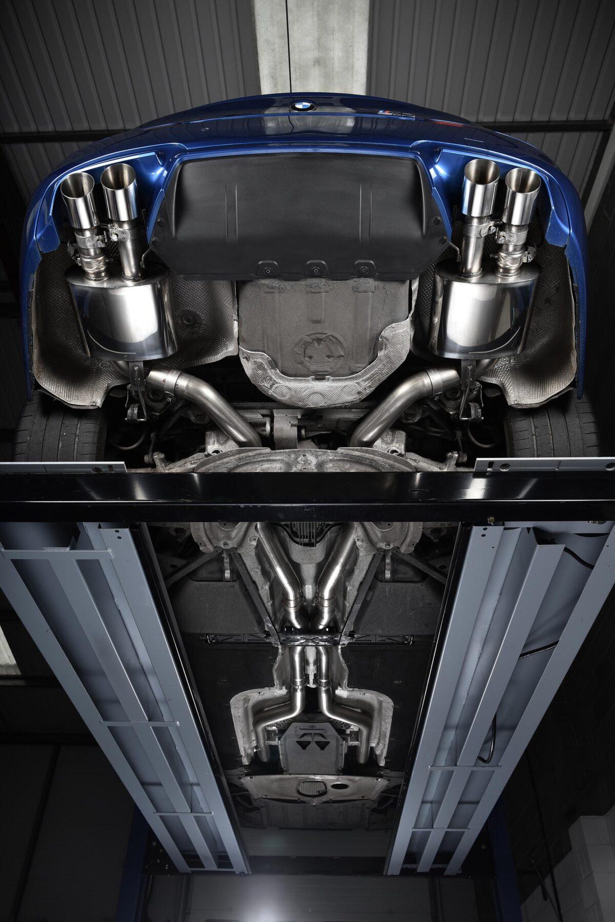 MILLTEK Cat Back Exhaust System SSXBM1016 BMW M5 F10 Saloon