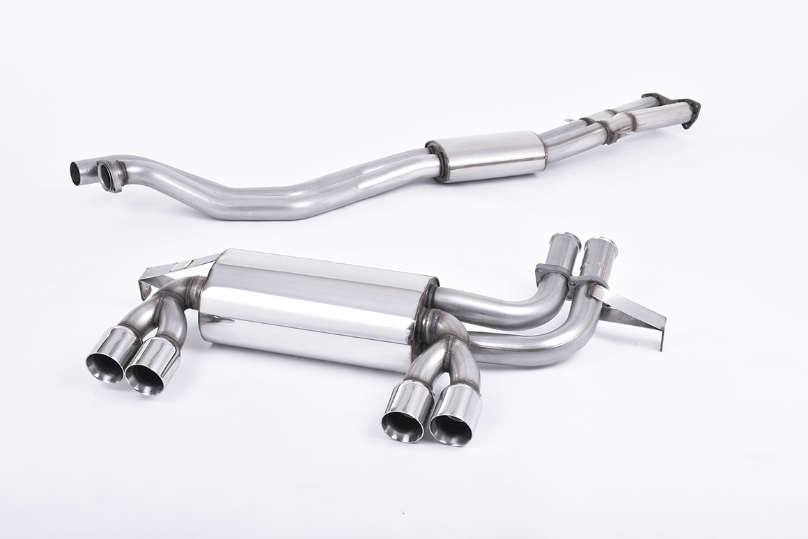 MILLTEK Cat Back Exhaust System SSXBM462 BMW E46 M3 3.2 Coupe - Cabriolet / BMW E46 M3 CSL
